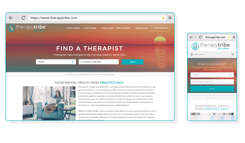 List Your Practice | TherapyTribe Therapist Directory