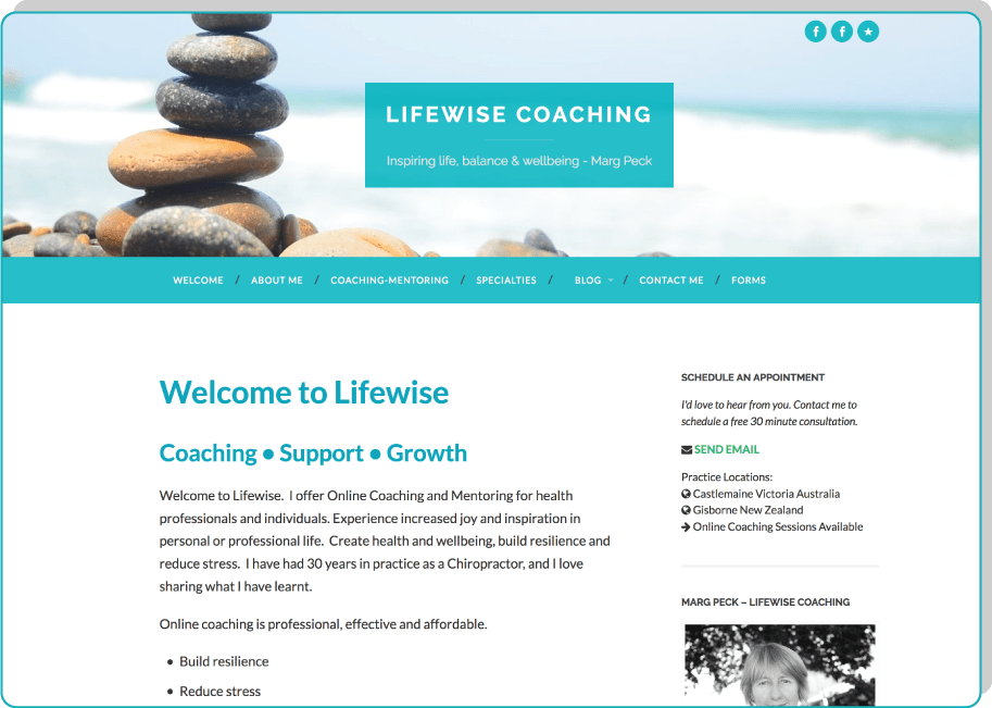 Lifewise Coaching: Marg Peck