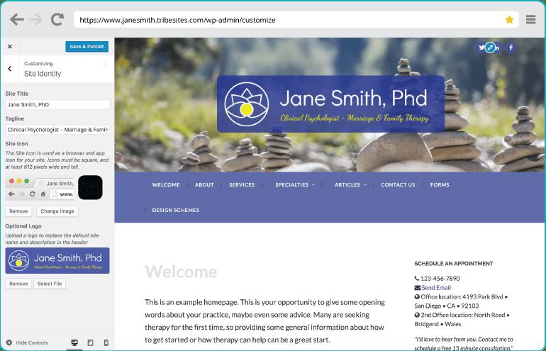 Site Icon & Logo