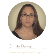 Therapist and counselors: Christa Denny, marriage and family therapist, Haymarket, Virginia