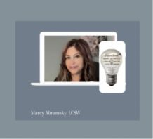 Therapist and counselors: Marcy Abramsky, LCSW, licensed clinical social worker, East Amherst, New York